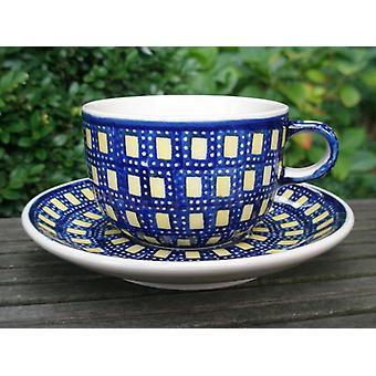 Kop med underkop - keramiske bordservice - tradition 70 - te & kaffe - BSN 62401