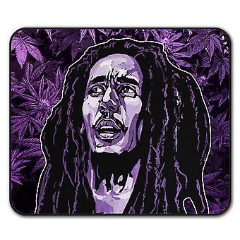 Face Celebrity Bob  Non-Slip Mouse Mat Pad 24cm x 20cm | Wellcoda