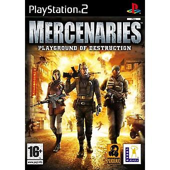 Mercenaries Playground of Destruction (PS2) - Factory Sealed