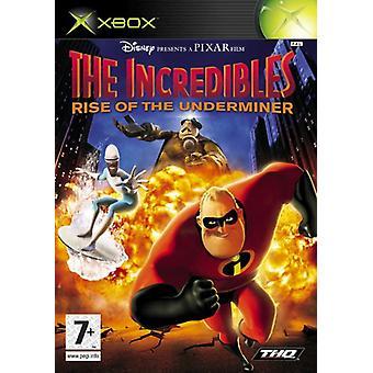 Superhjältarna löneförhöjningen av Underminer (Xbox)