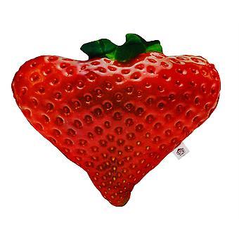 Cheeky Baldrick Realistic Strawberry Cushion