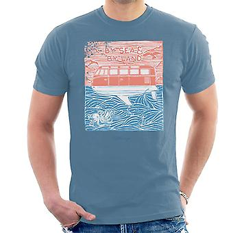 Official Volkswagen By Sea And Land Men's T-Shirt