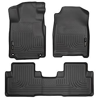 Husky Liners Front & 2nd Seat Floor Liners (Footwell Coverage) Fits 12-15 CR-V