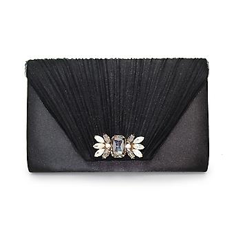 Lunar Amalfi Pleated Clutch Bag