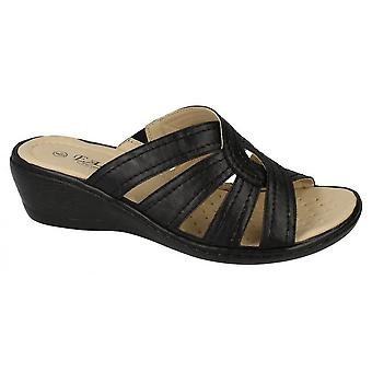 Eaze Womens/Ladies Peep Toe Sandals