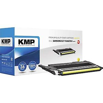 KMP Toner cartridge replaced Samsung CLT-Y406S Compatible Yellow 1000 pages SA-T56