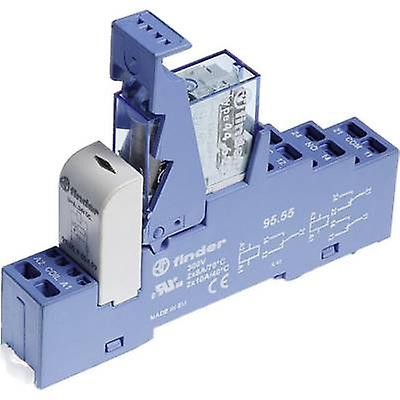 Relay component 1 pc(s) Finder 48.72.7.048.0050 Nominal voltage: 48 Vdc Switching current (max.): 8 A 2 change-overs