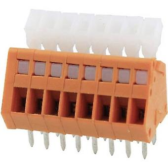 Degson DG240-2.54-05P-15-00AH Spring-loaded terminal 0.51 mm² Number of pins 5 Orange 1 pc(s)