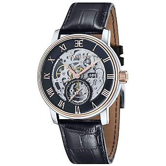 Thomas Earnshaw The Westminster Watch - Black/Rose Gold/Silver
