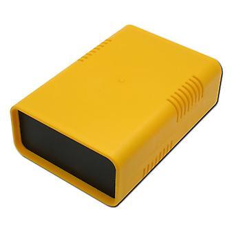 KGB10 - Euro Box klein 95 x135 x45 Gelb Schnappverschluss Halbschalengehäuse Neu