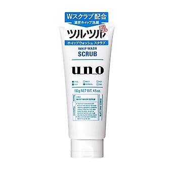 Shiseido Uno Whip Wash Scrub 130g