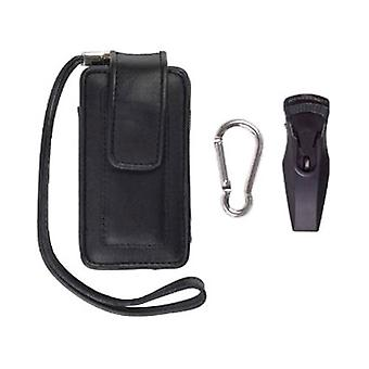 Universal. Medium size. Fitted Vertical Pouch for LG AX300, VX8560 Chocolate 3;