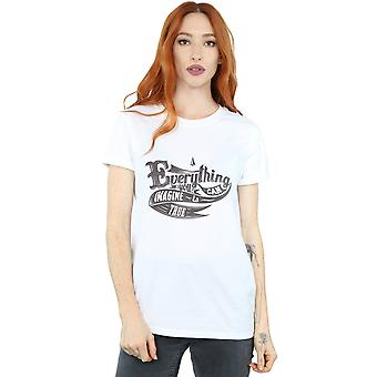 Drewbacca Women's Everything You Can Imagine Boyfriend Fit T-Shirt