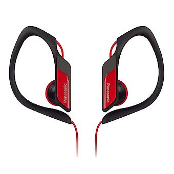 Panasonic RP-HS34E-R Water/Sweat Resistant In Ear Sports Headphone - Red