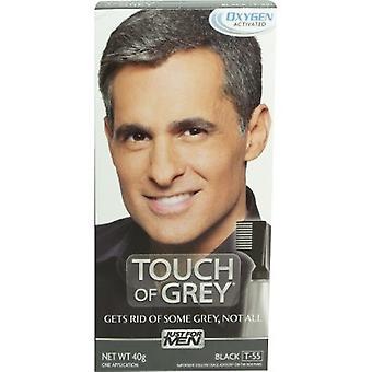 Bara för män Touch av grå - svart T55