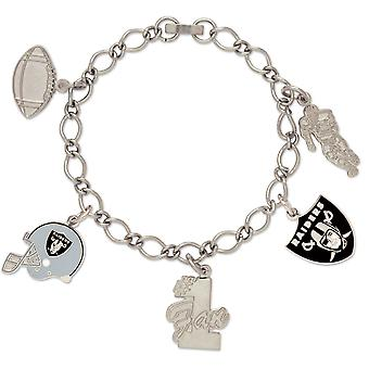Wincraft Damen Charms Armband - NFL Oakland Raiders