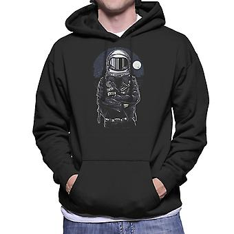 Astronaut Rebel mannen Hooded Sweatshirt
