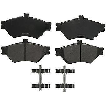 Wagner QuickStop ZX659 Semi-Metallic Disc Pad Set Includes Pad Installation Hardware, Front