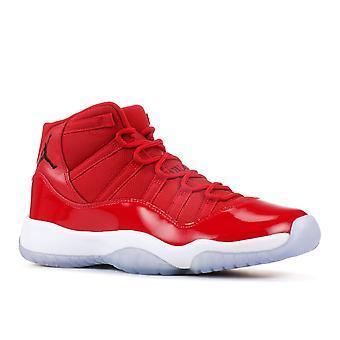 Air Jordan 11 Retro Bg (Gs) 'Win Like '96' - 378038-623 - Shoes