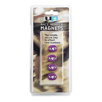 Ultimate Performance Race Number Magnets - Purple - AW19