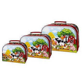 Einfach für Kinder set 3 Stück Gepäck Farm