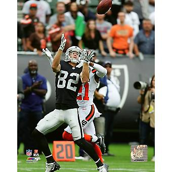 Jordy Nelson 2018 Action Photo Print