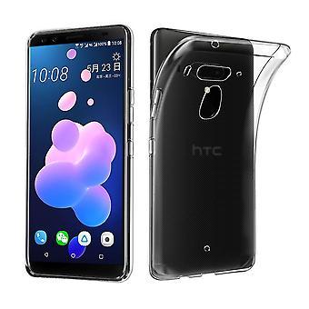 HTC U12+ Plus Transparent Case Hülle Silikon