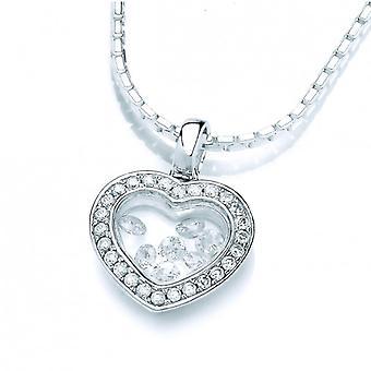 Cavendish Frans klein zilver Venus hanger zonder ketting