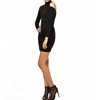 Waooh - moda - vestido un corto pase alto y abierto de nuevo