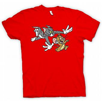 Kids T-shirt - Tom And Jerry - Retro Cartoon Classic Women
