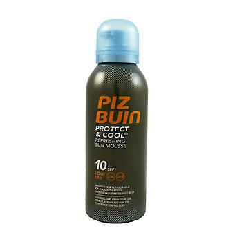 Piz Buin protect & cool refreshing Sun mousse SPF10 sun protection 150 ml