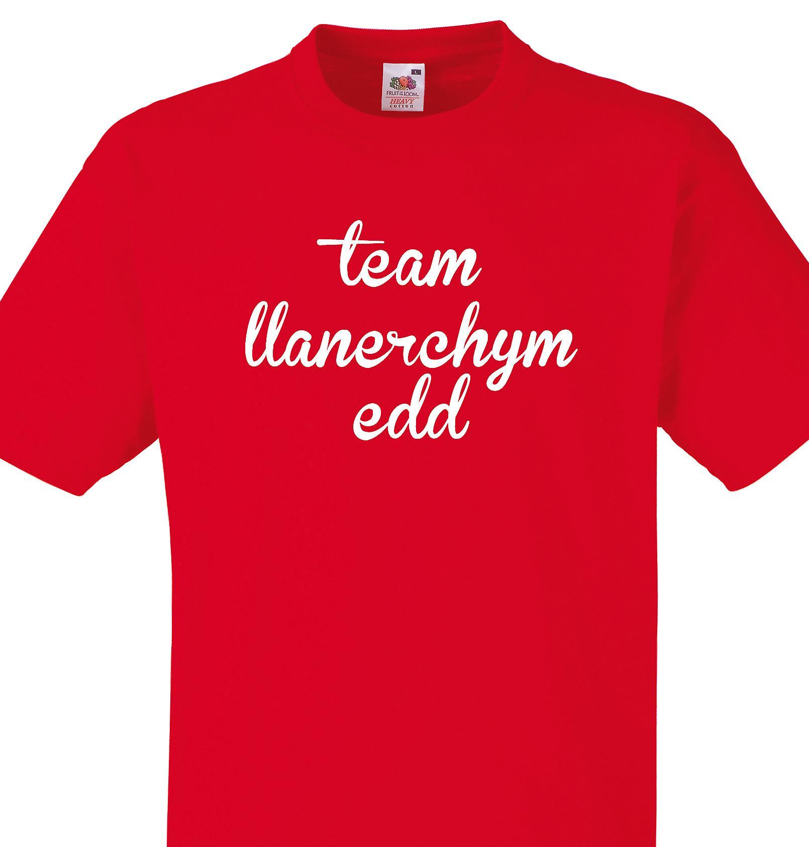 Team Llanerchymedd Red T shirt