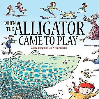 Quand l'Alligator est venu à jouer