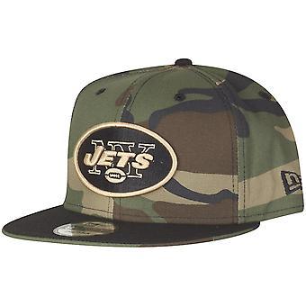 Ny æra 9Fifty Snapback Cap - New York Jets tre camo