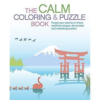 La coloration calme & Puzzle Book