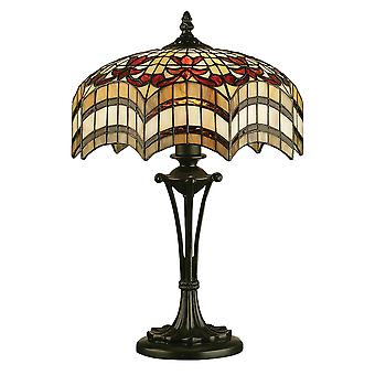 Vesta petit Style Tiffany lampe de Table - Interiors 1900 64376