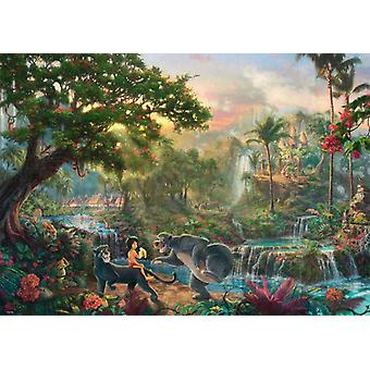 Schmidt Kinkade: Disney The Jungle Book Jigsaw Puzzle (1000 sztuk)