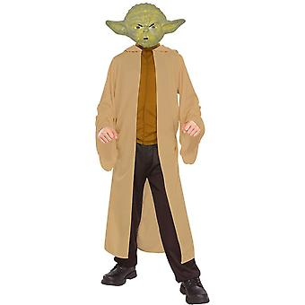 Yoda Star Wars barn kostume