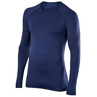 Falke-Maximum warme Behaglichkeit Langarm-Shirt - Dark Night Navy