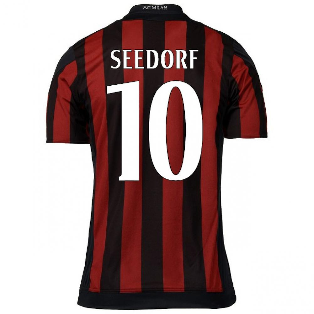 2015-16 AC Milan Home Shirt (Seedorf 10)