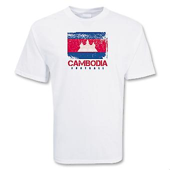 Камбоджа футбола футболку