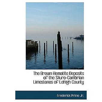 The Brown Hematite Deposits of the SiluroCambrian Limestones of Lehigh County Large Print Edition by Jr. & Frederick Prime