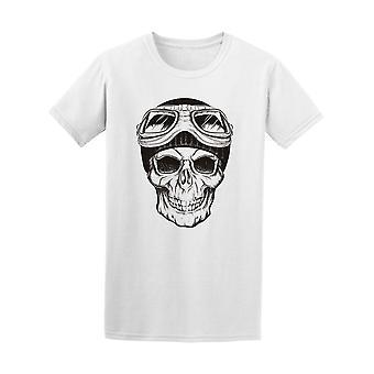 Dark Aviator Skull Tee Men's -Image by Shutterstock