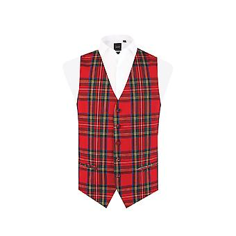 Doball Boys rode Tartan gilet Regular Fit