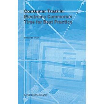 Vertrauen der Verbraucher in e-Commerce-Zeit für Best Practice von De Bruin