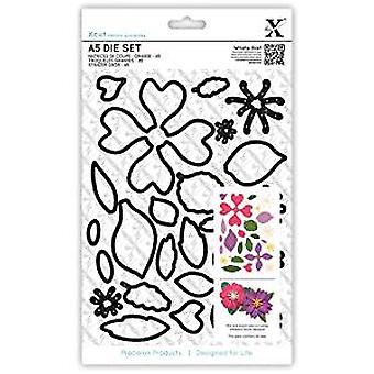 Xcut A5 Dies Set (24pcs) - Flowers (XCU 503195)