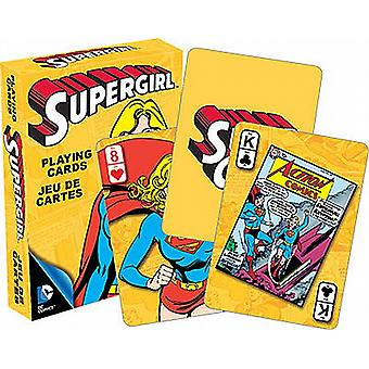 Supergirl DC Comics set van 52 speelkaarten (nm 52355)