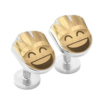 Guardians of the Galaxy Groot Emoji Cufflinks