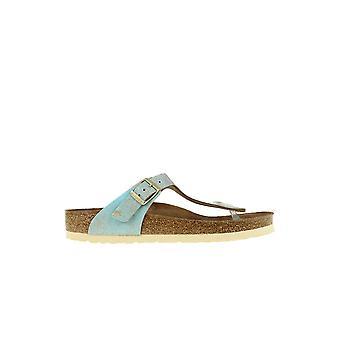 Birkenstock Gizeh Washed Metallic 1012905 chaussures d'été universelles pour femmes