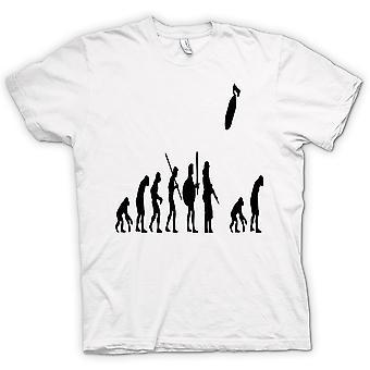 Mens T-shirt - Mans Evolution Of War & Life